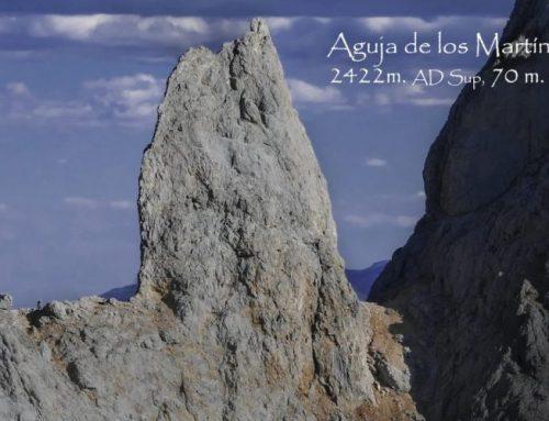Aguja de los Martínez, 2422 m. AD Sup, IV+, 70 m.