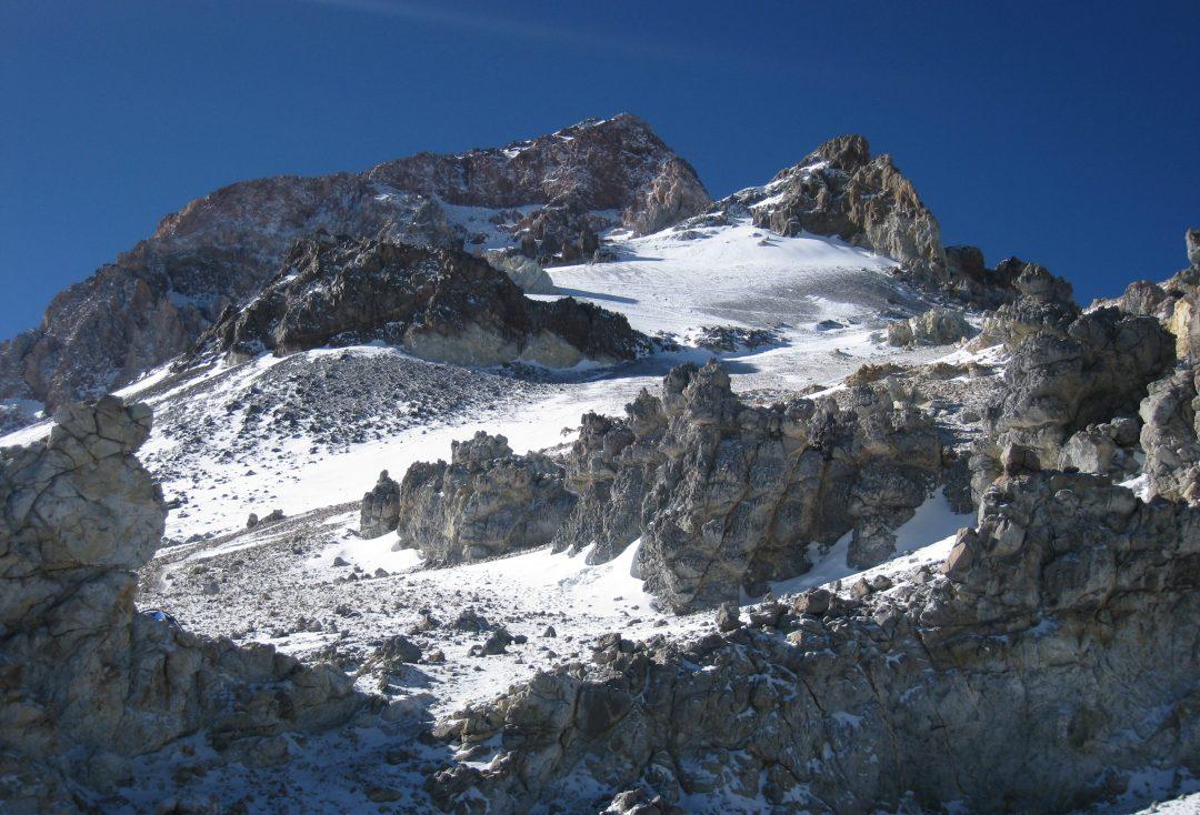 Aconcagua, 6962 m. El techo de América