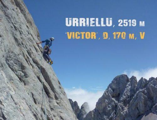 "Urriellu, ""Víctor"". 170 m. Dif. V"