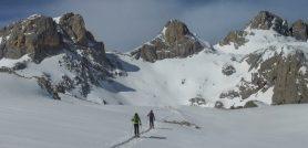 Corredor norte del pico San Carlos