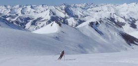 Del Coriscao al Gildar en esquís. Travesía San Glorio-Panderrueda